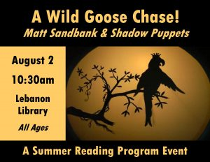 Wild Goose Chase: Puppets!
